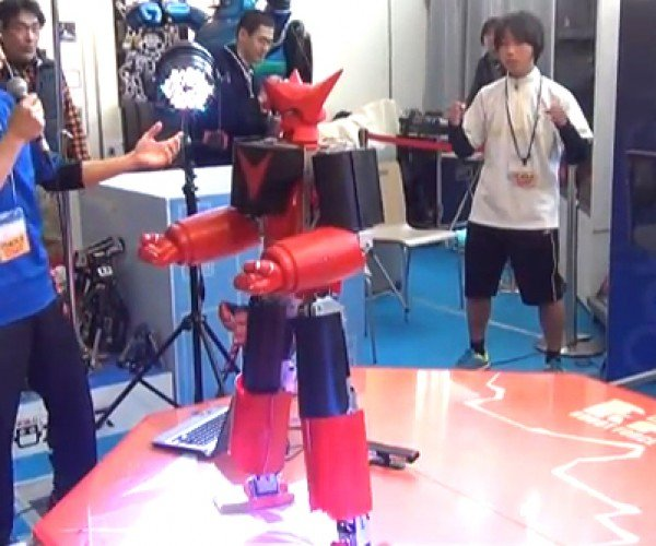 Battle Robot Controlled in Real Time Via Motion Capture: Real Real Steel