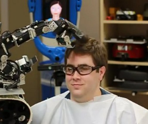 Never Trust a Robot Barber