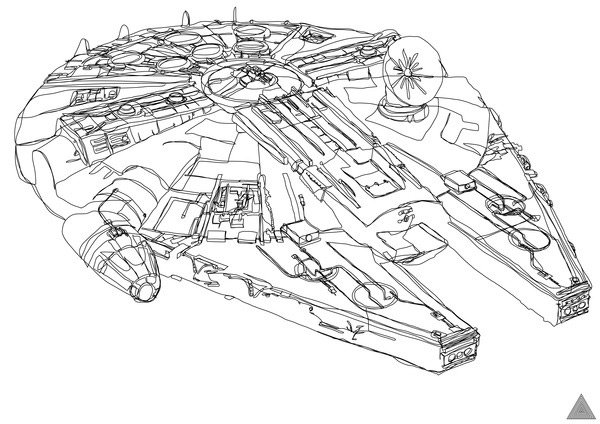 sam-hallows-continuous-star-wars-line-millennium-falcon