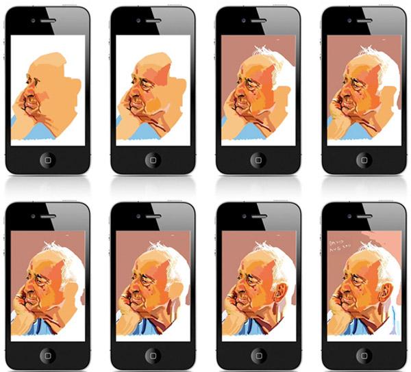 sam kerr illustrations caricatures iphone