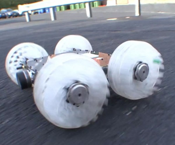 Sand Flea Robot Can Jump 30 Feet in the Air