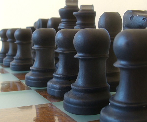 Soap Chess Set: Dirt, Checkmate!