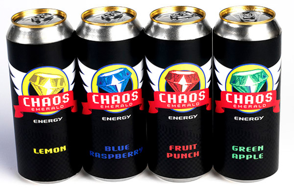 sonic chaos emerald energy drink 2