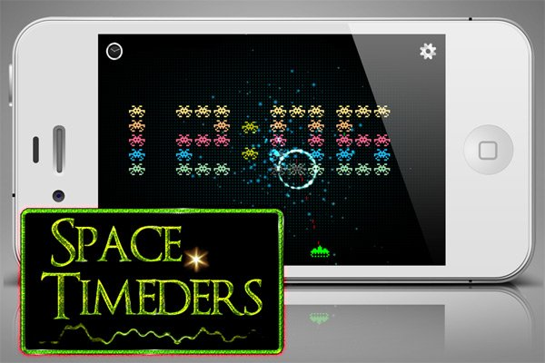 space-timeders iphone ipad app clock game ios