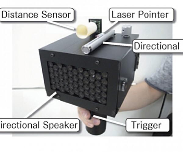 Speech Jamming Gun: Literal Silencer