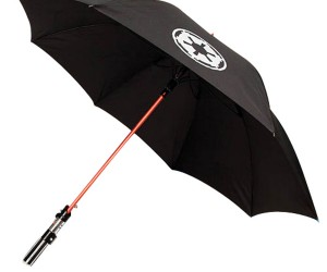 Lightsaber Umbrellas for the Dry Side of the Force