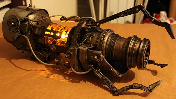 steampunk portal gun by batman n bananas