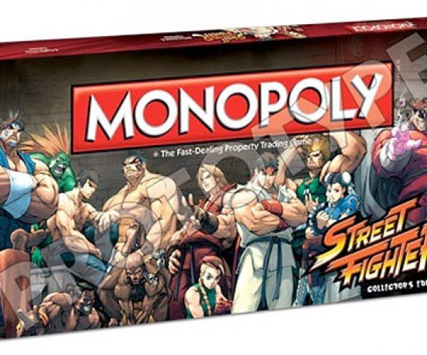 Street Fighter Monopoly Coming: How Do You Pull Off Combo Moves with Dice?