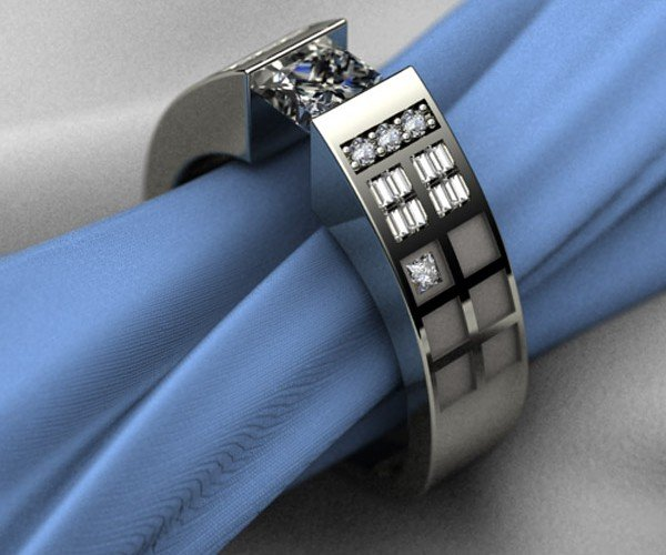 This TARDIS Ring is Fit for a Timelord