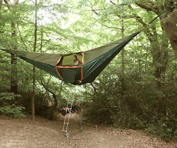 Tentsile Hanging Tents Make Pitching a Tent Nearly Impossible