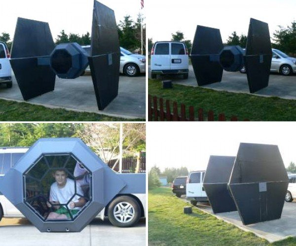 1:3 Scale TIE Fighter Playhouse for Sale on Craigslist