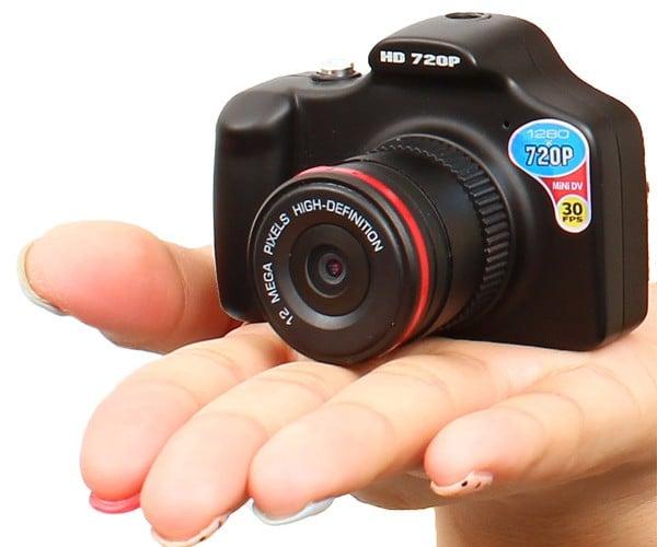 "Kun ""One Eye"" Camera: Tiny ""DSLR"" Shoots 12MP Pics, HD Video"