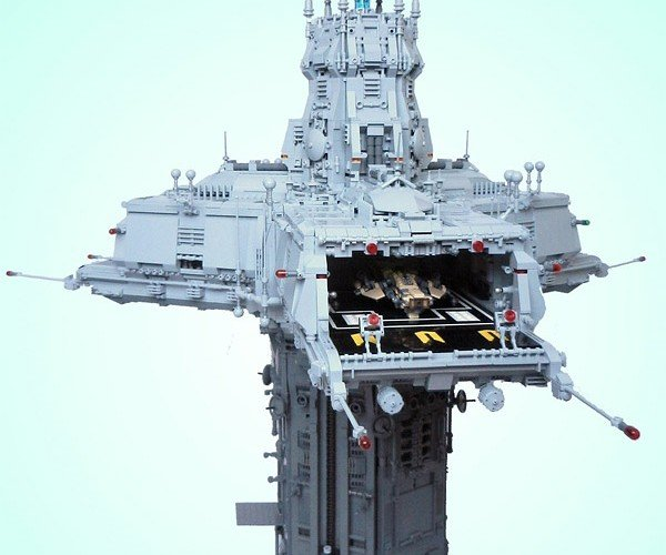 Triport Spire is One Insanely Detailed LEGO Creation