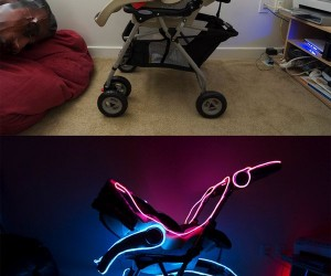 TRON Stroller Perfect for Babies Named Flynn