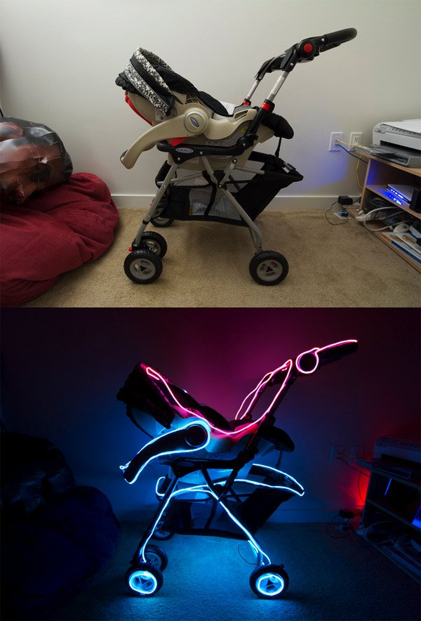 tron baby stroller
