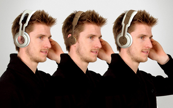 twin headphones roel deden