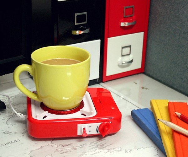 USB Gas Stove: Cooking with Laptop Power