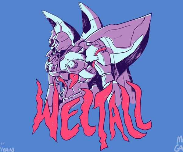 xenogears weltall t-shirt by zac gorman 2