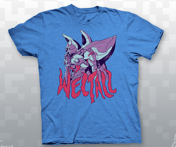 xenogears weltall t shirt by zac gorman