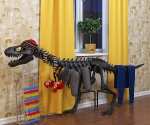 Thermosaurus Radiator with Adorable Mittens Soon to Be Heating Your Home?