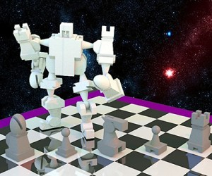 3D-Printed Chess Set Transforms Into Robot: Checkmecha