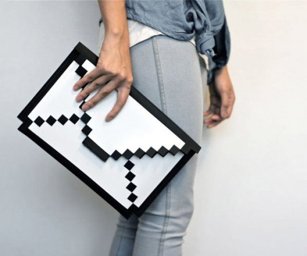 8-bit sleeve for ipad and macbook air by big big pixel