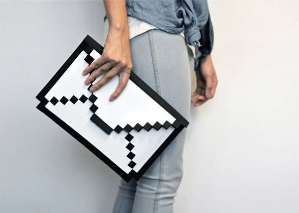 8 bit sleeve for ipad and macbook air by big big pixel