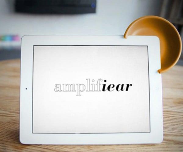 Amplifiear Amplifies iPads with a Cartoon Mouse Ear