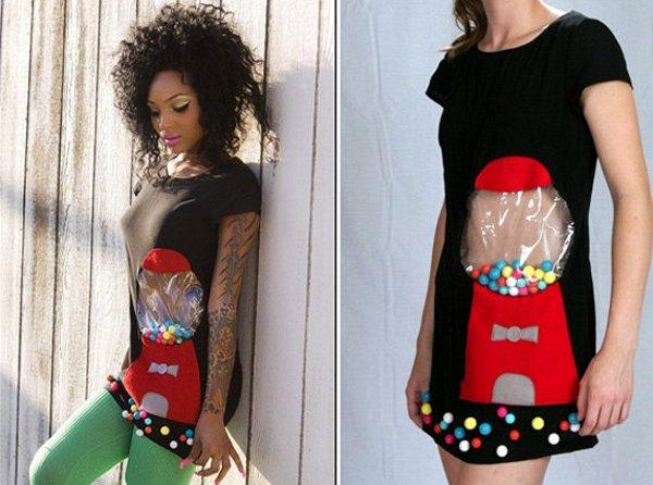 Bubblegum machine dress