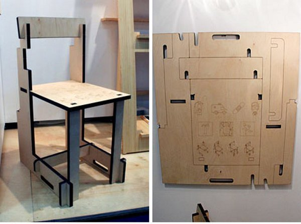 Emergency Chair & Table