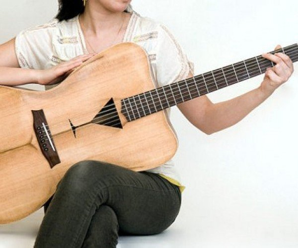 Guitar Lets You Strum Tunes to the Beat of the Female Form