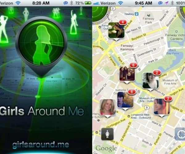 """Creepy """"Girls Around Me"""" App Pulled from the App Store"""