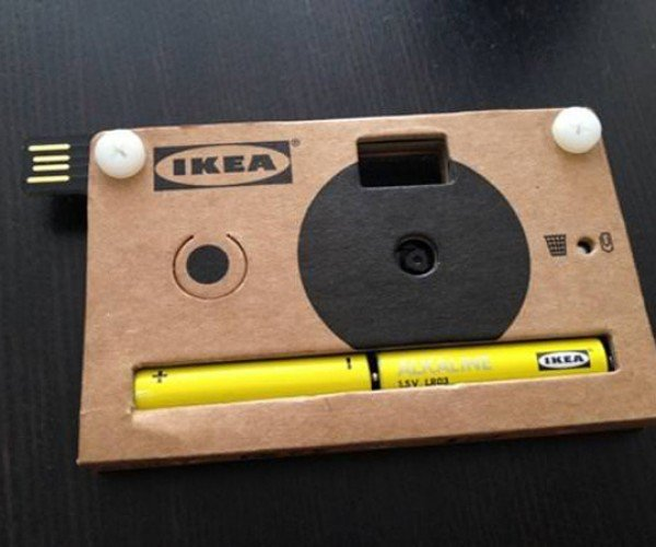 IKEA Digital Camera is Made of Cardboard, No Assembly Required