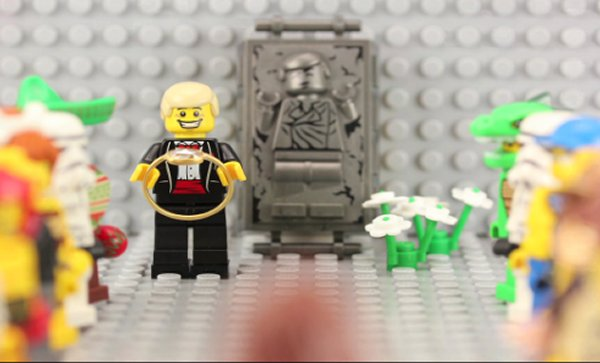 Stop-Motion LEGO Proposal: Will You Marry My Minifig? - Technabob