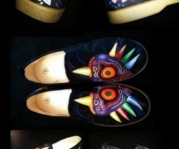 Majora's Mask Shoes Unfortunately Do Not Include the Evil Moon