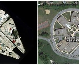 School Looks Like the Millennium Falcon, Can't Do the Kessel Run in Under 12 Parsecs