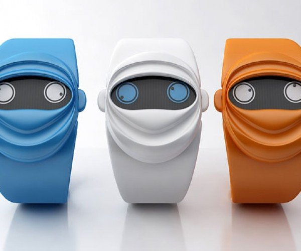 Ninja Time: Stare Into the Eyes of the Ninja to Tell the Time