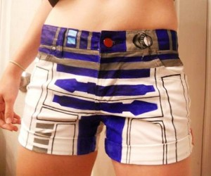 R2-D2 Shorts for Showing off Your Ass-tromech