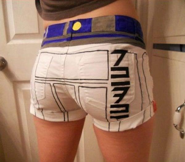 R2 D2 Shorts For Showing Off Your Ass Tromech Technabob