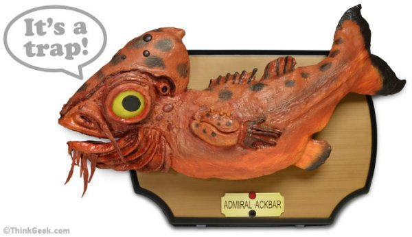 Star Wars Admiral Ackbar Singing Bass