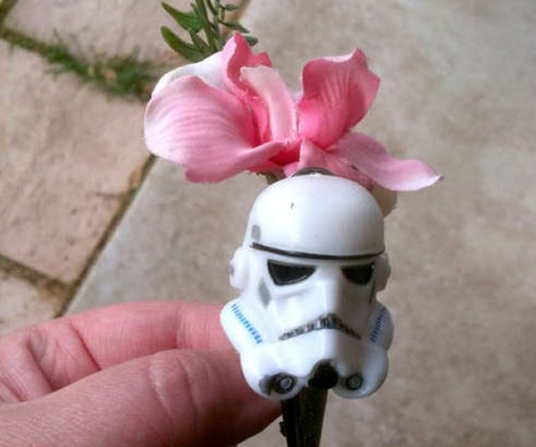Star Wars Boutonnières for Formal Imperial Events