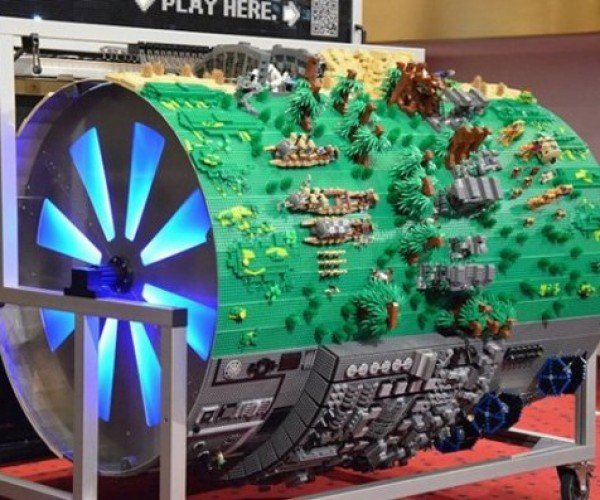 Best Star Wars Lego Diorama Ever Even Plays the Theme Music