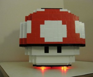 Super Mario Mushroom Case Mod: Power On to Power Up