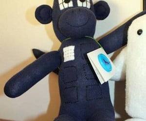 TARDIS Sock Monkey: More Bananas on the Inside