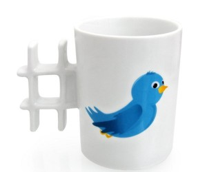 Tweet Mug Wants Hold Coffee, Hashtags