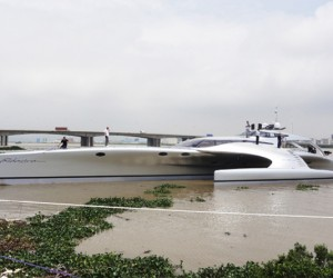 Chinese-Built Superyacht Can Be Controlled Via iPad