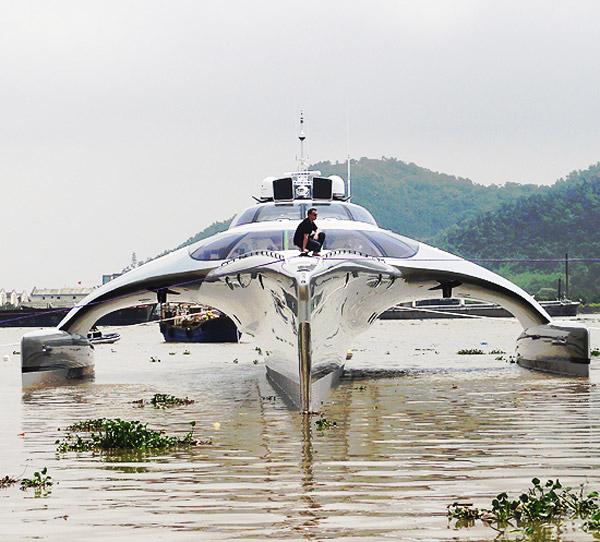adastra super yacht ipad remote control face