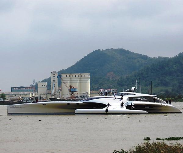 adastra super yacht ipad remote control side