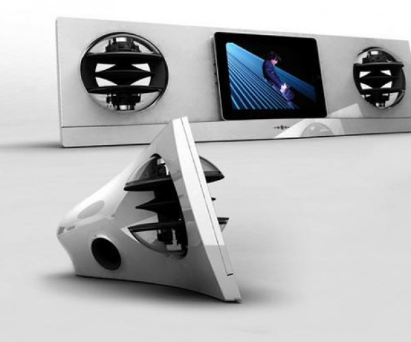 AeroPad Two Dock is One Huge iPad Dock