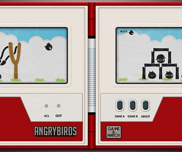 Angry Birds Lobbed to Another Platform
